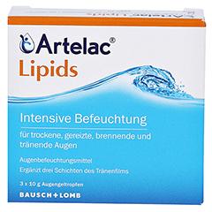 Artelac Lipids MD Augentropfen 3x10 Gramm - Vorderseite