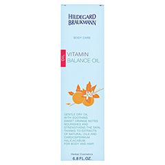 Hildegard Braukmann BODY CARE Vitamin Balance Öl 200 Milliliter - Rückseite
