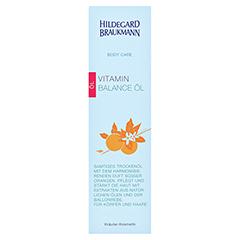 Hildegard Braukmann BODY CARE Vitamin Balance Öl 200 Milliliter - Vorderseite