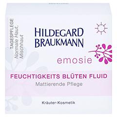 Hildegard Braukmann EMOSIE Feuchtigkeits Blüten Fluid 50 Milliliter - Vorderseite