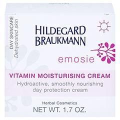 Hildegard Braukmann EMOSIE Vitamin Feuchtigkeits Creme 50 Milliliter - Rückseite