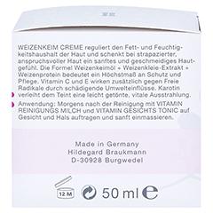 Hildegard Braukmann EMOSIE Weizenkeim Creme 50 Milliliter - Rechte Seite