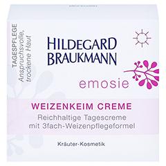 Hildegard Braukmann EMOSIE Weizenkeim Creme 50 Milliliter - Vorderseite
