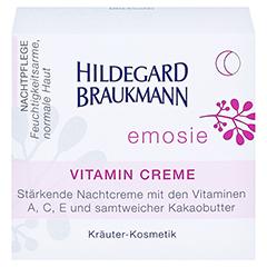 Hildegard Braukmann EMOSIE Vitamin Creme 50 Milliliter - Vorderseite