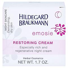 Hildegard Braukmann EMOSIE Aufbau Creme 50 Milliliter - Rückseite