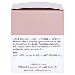 Hildegard Braukmann EXQUISIT Feuchtigkeits Creme sensitiv 50 Milliliter - Linke Seite
