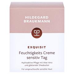 Hildegard Braukmann EXQUISIT Feuchtigkeits Creme sensitiv 50 Milliliter - Vorderseite