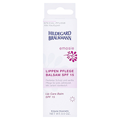 Hildegard Braukmann EMOSIE Lippen Pflege Balsam SPF 15 15 Milliliter - Vorderseite