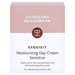 Hildegard Braukmann EXQUISIT Feuchtigkeits Creme sensitiv 50 Milliliter - Rückseite
