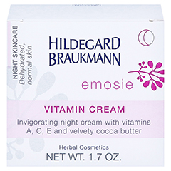 Hildegard Braukmann EMOSIE Vitamin Creme 50 Milliliter - Rückseite