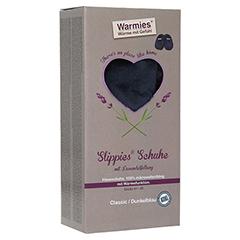 WARMIES Slippies Schuhe Classic Gr.41-45 dunkelbl. 1 Stück