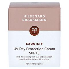 Hildegard Braukmann EXQUISIT UV Tagesschutz Creme SPF 8 50 Milliliter - Rückseite