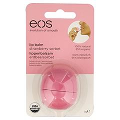 EOS Organic Lip Balm strawberry sorbet Blister 1 Stück
