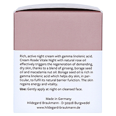 Hildegard Braukmann EXQUISIT Creme rosee vitale 50 Milliliter - Linke Seite