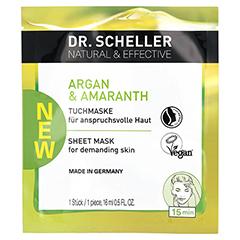 DR.SCHELLER Arganöl&Amaranth Tuchmaske 1 Stück