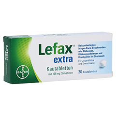 Lefax extra 20 Stück N1
