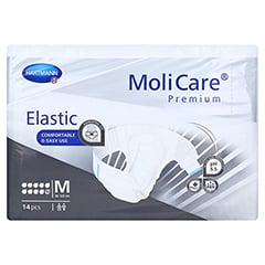 MOLICARE Premium Elastic Slip 10 Tropfen Gr.M 4x14 Stück - Vorderseite
