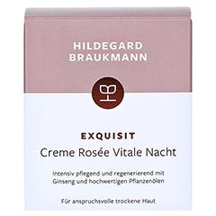 Hildegard Braukmann EXQUISIT Creme rosee vitale 50 Milliliter - Vorderseite