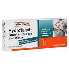 Hydrotalcit-ratiopharm 500mg 20 Stück N1