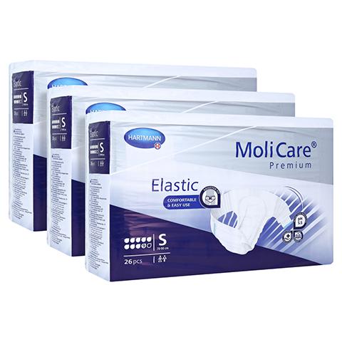 MOLICARE Premium Elastic Slip 9 Tropfen Gr.S 3x26 Stück