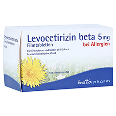 Levocetirizin beta 5mg 100 Stück N3