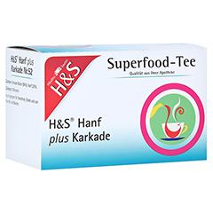 H&S Hanf plus Karkade Filterbeutel 20x1.3 Gramm