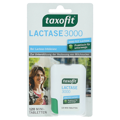 TAXOFIT Lactase 3.000 Tabletten 120 Stück