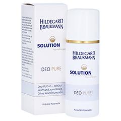 Hildegard Braukmann 24H SOLUTION Deo Pure Roll on 75 Milliliter