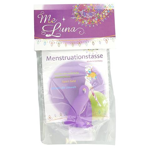 MENSTRUATIONSTASSE Me Luna Classic Gr.L violett 1 Stück