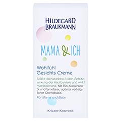 Hildegard Braukmann MAMA & ICH Wohlfühl Gesichts Creme 50 Milliliter - Vorderseite