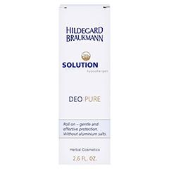 Hildegard Braukmann 24H SOLUTION Deo Pure Roll on 75 Milliliter - Rückseite