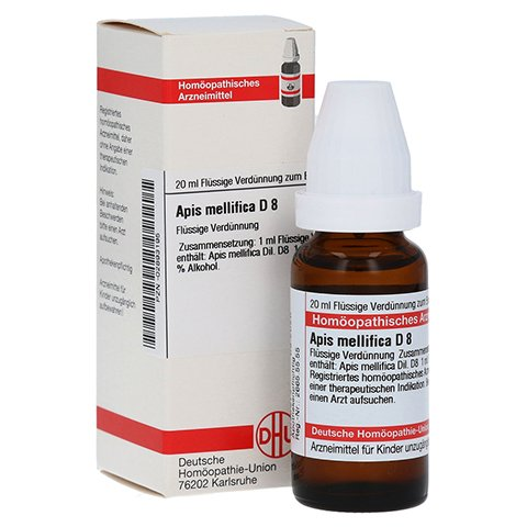 APIS MELLIFICA D 8 Dilution 20 Milliliter N1