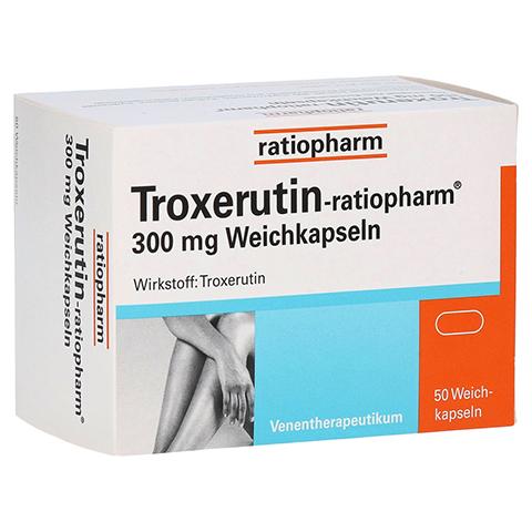Troxerutin-ratiopharm 300mg 50 Stück