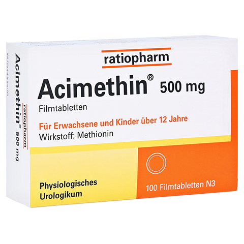 ACIMETHIN Filmtabletten 100 Stück N3