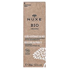 NUXE Bio regenerierendes nährendes Nachtöl 30 Milliliter - Rückseite