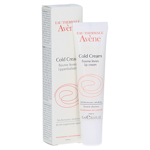 AVENE Cold Cream Lippenbalsam 15 Milliliter