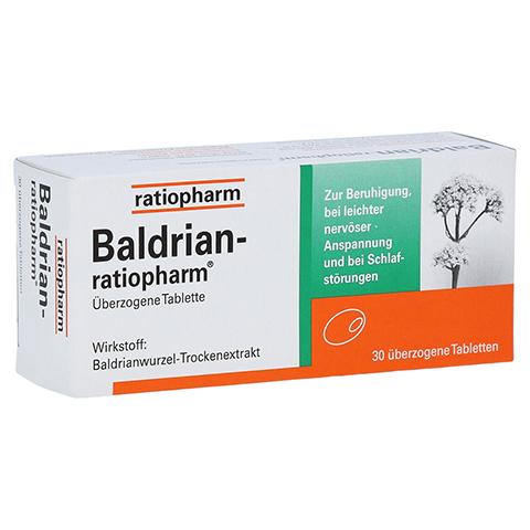 BALDRIAN RATIOPHARM überzogene Tabletten 30 Stück