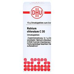 NATRIUM CHLORATUM C 30 Globuli 10 Gramm N1 - Vorderseite
