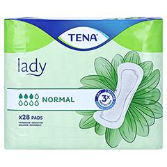 TENA LADY normal Einlagen 28 Stück - Vorderseite