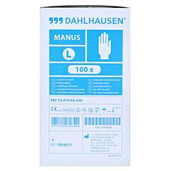 COPOLYMER Handschuhe steril Gr.L 100 Stück - Linke Seite