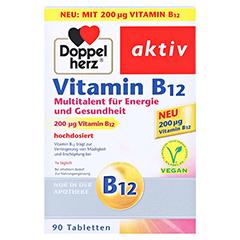 Doppelherz aktiv Vitamin B12 90 Stück - Vorderseite