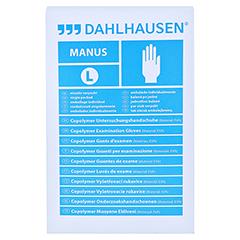 COPOLYMER Handschuhe steril Gr.L 100 Stück - Vorderseite