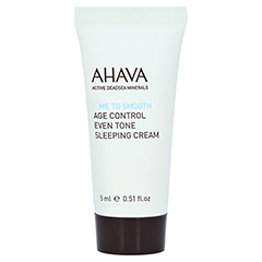 AHAVA Age Control Even Tone Sleeping Cream 15 Milliliter