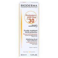 BIODERMA Photoderm AKN Mat Sonnenfluid SPF 30 40 Milliliter - Vorderseite