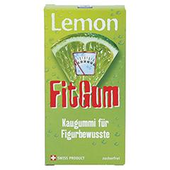 LEMON FITGUM L-Carnitin Kaugummi 2x8 Stück - Vorderseite