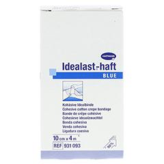 IDEALAST-haft color Binde 10 cmx4 m blau 1 Stück - Vorderseite