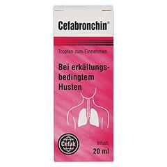 CEFABRONCHIN Tropfen zum Einnehmen 20 Milliliter - Vorderseite