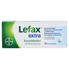 Lefax extra 20 Stück N1 - Vorderseite