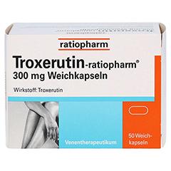 Troxerutin-ratiopharm 300mg 50 Stück - Vorderseite