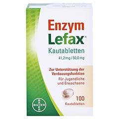 Enzym Lefax 100 Stück - Vorderseite